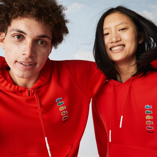 Lacoste x Polaroid Unisex Cotton Fleece Sweatshirt
