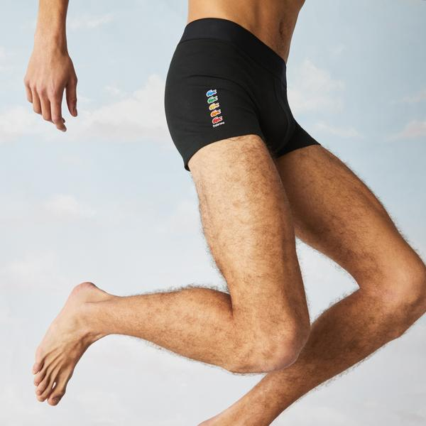 Lacoste x Polaroid Men's Stretch Cotton Trunk