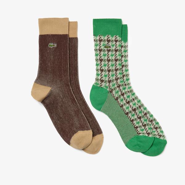 Lacoste Men's Elegant Sock Two-Pack