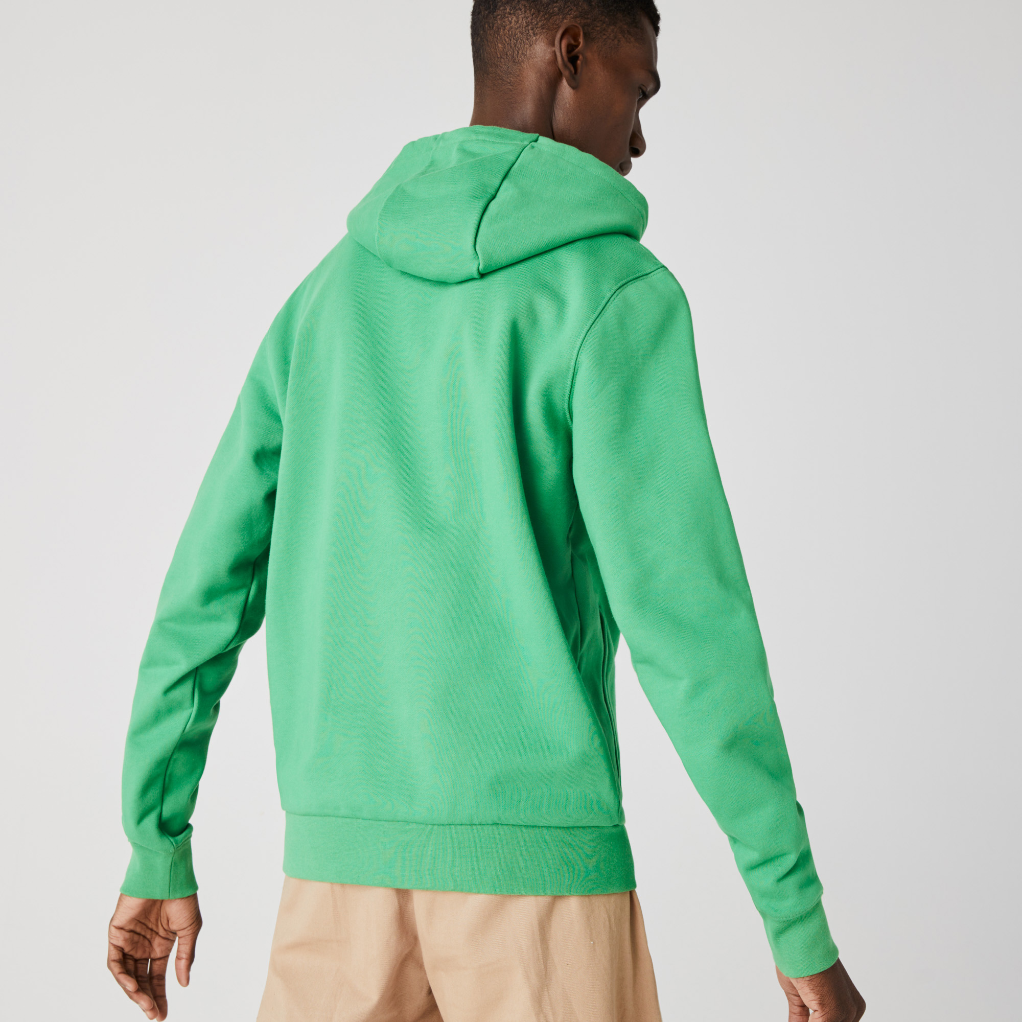 Lacoste Men's Hooded Badge Sweatshirt