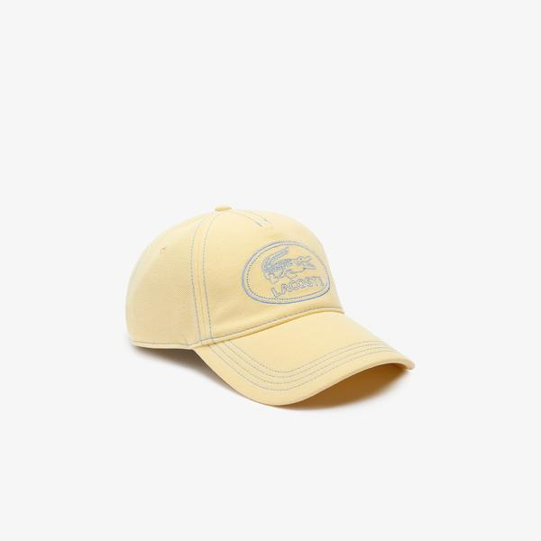 Lacoste Men's Embroidered Logo Cotton Piqué Cap