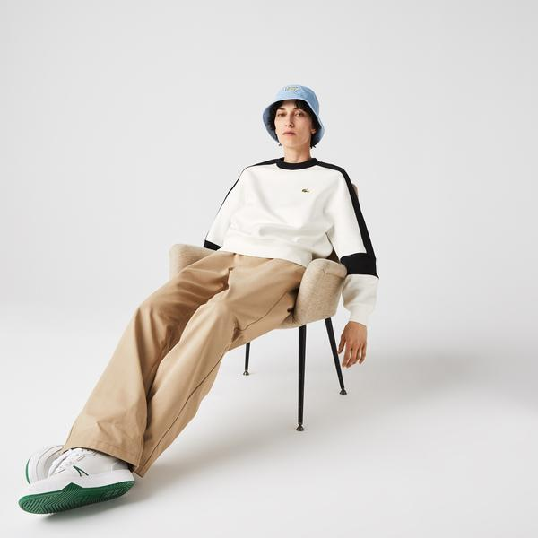 Lacoste Women's  LIVE Graphic Panels Sweatshirt