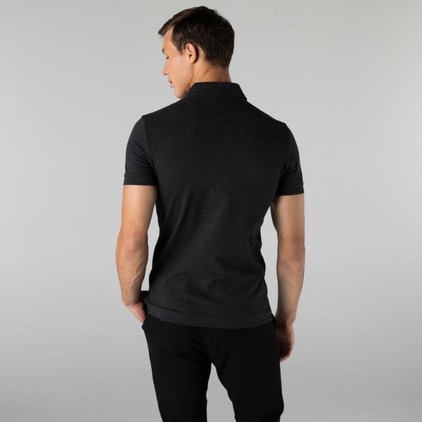 Lacoste Men's Paris Polo Shirt Regular Fit Stretch Cotton Piqué