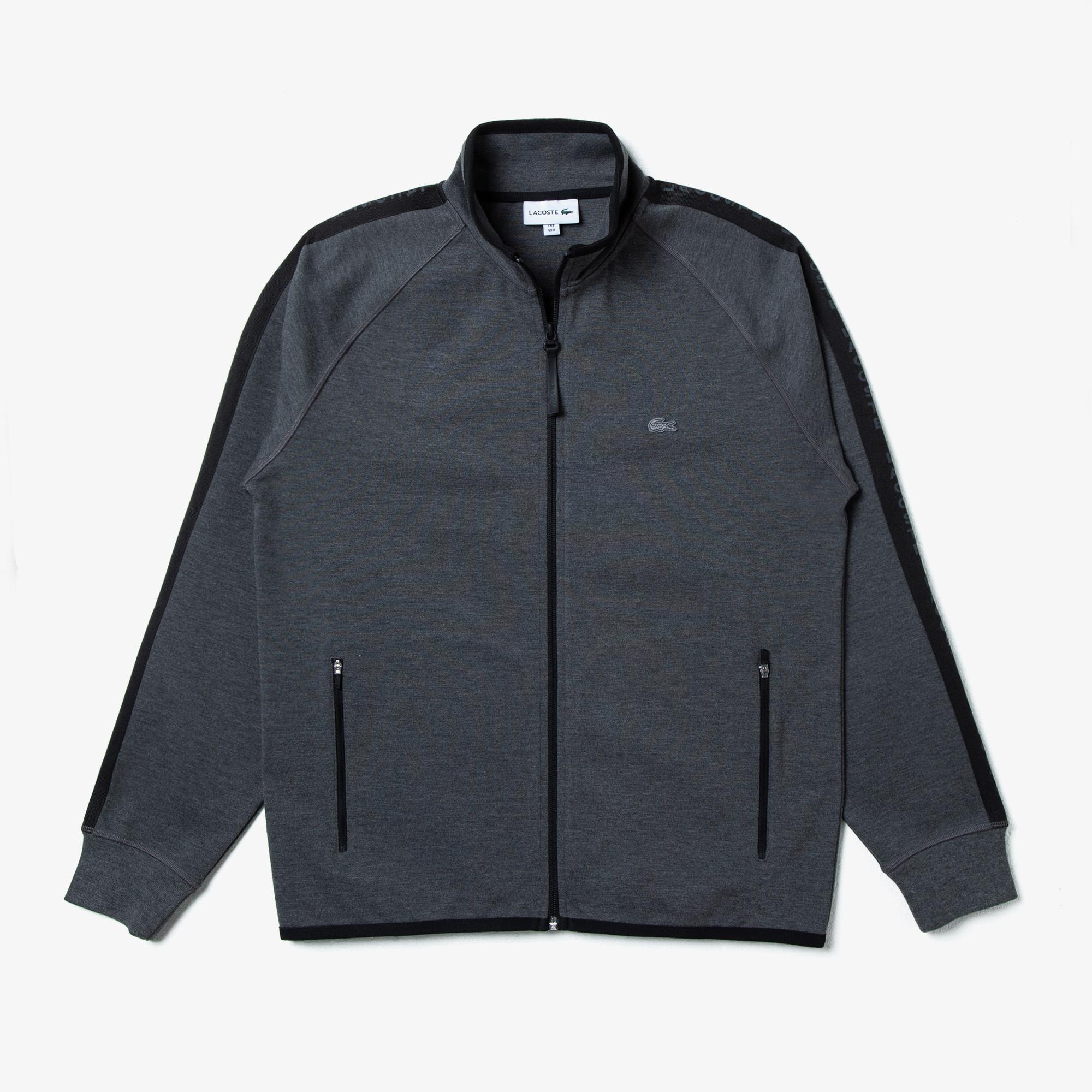Lacoste Men's Zippered Sweatshirt
