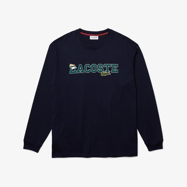 Lacoste Men's Branded Cotton T-Shirt